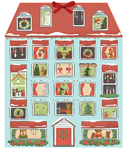 9780735341340: Forest Friends Christmas House Advent Calendar