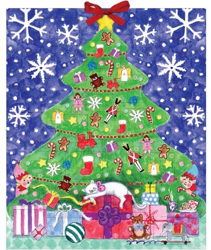 9780735341357: Michael Storrings Christmas Tree Advent Calendar (Advent Calander)