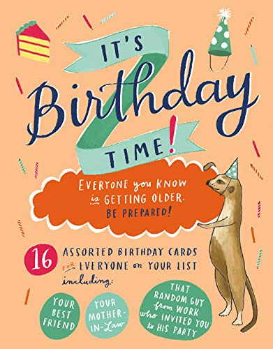 9780735341531: It's Birthday Time Greeting Assortment Boxed Notecards