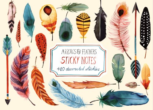 Arrows and Feathers Sticky Notes: Margaret Berg; Galison
