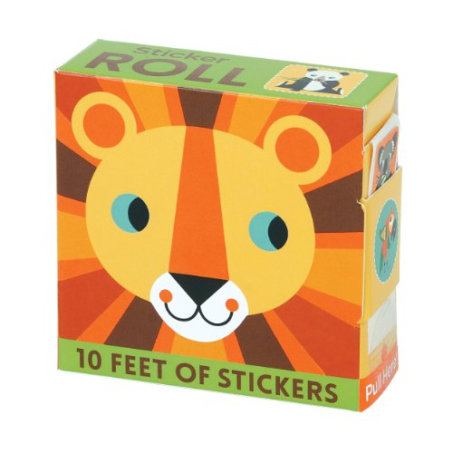 9780735341692: Animals of the World Sticker Roll