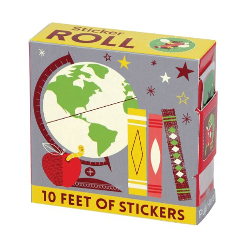 9780735341739: School Days Sticker Roll