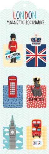 9780735341814: London Magnetic Bookmarks