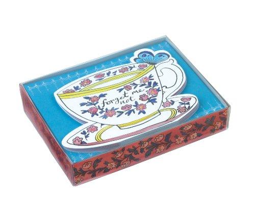 9780735341968: Molly Hatch Teacups Die-Cut Notecards (Die-Cute Notecards)