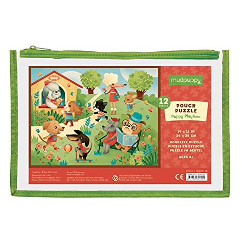 9780735342101: Puppy Playtime Pouch Puzzle: 12 Piece