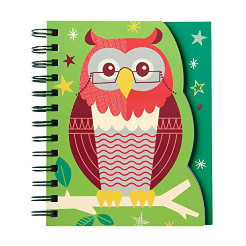 Mudpuppy School Days Owl Layered Journal