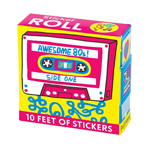 9780735342200: Awesome 80s! Sticker Roll