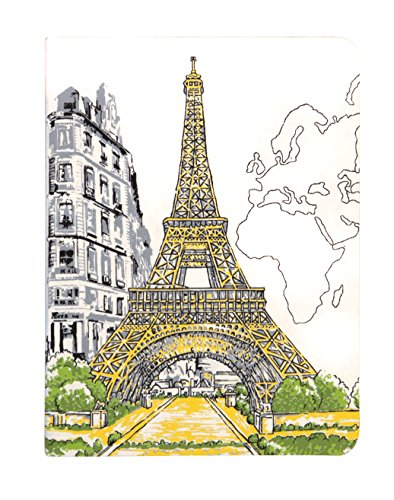 9780735342484: Paris Eiffel Tower Handmade Journal