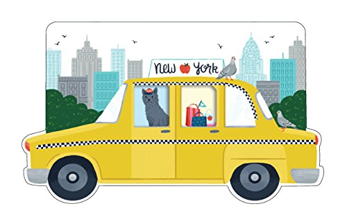 9780735342736: New York City Taxi Shaped Cover Sticky Notes