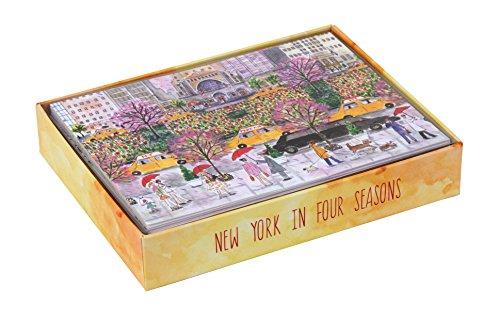9780735343283: Michael Storrings New York in Four Seasons Luxe Notecards