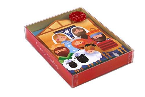 9780735343368: Nativity Tri-fold Notecards