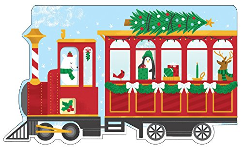 9780735343634: Christmas Train Shaped Cover Sticky Notes