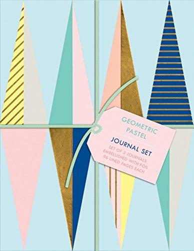 9780735343733: Geometric Pastel Petite Journal Set