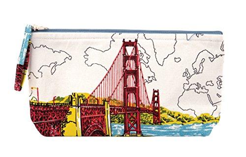 9780735343771: San Francisco Golden Gate Handmade Pouch