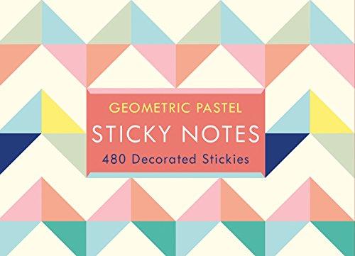 9780735343818: Geometric Pastel Sticky Notes