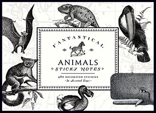 9780735343825: Vintage Prints Fantastical Animals: Sticky Notes