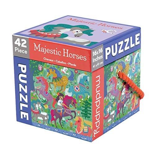 9780735343924: Majestic Horses Cube Puzzle: 42 Pieces