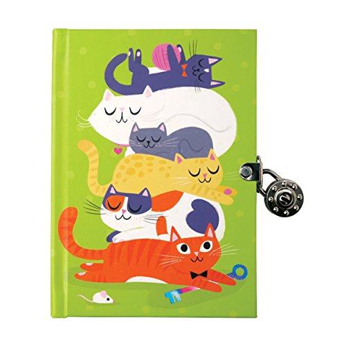 9780735344020: Cats Locked Diary