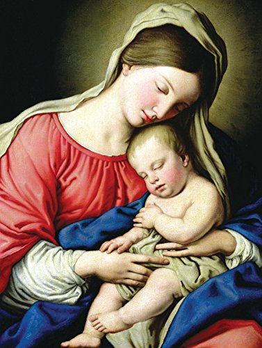 9780735344181: Virgin and Child Boxed Holiday Full Notecards