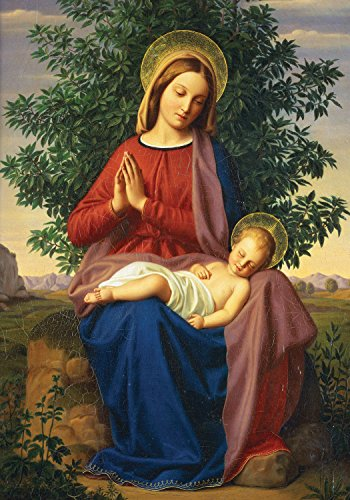 9780735344358: Madonna and Child Boxed Holiday Half Notecards