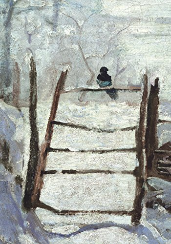 9780735344433: Monet Magpie Detail Holiday Half Notecards