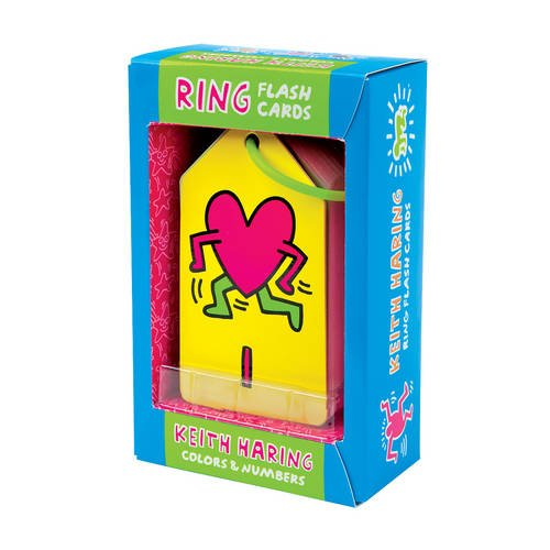 9780735344532: Mudpuppy Keith Haring Colors & Numbers Ring Flash Cards