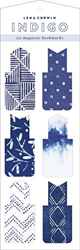 9780735344785: Indigo Magnetic Bookmarks