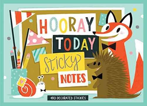 9780735344839: Hooray Today Sticky Notes