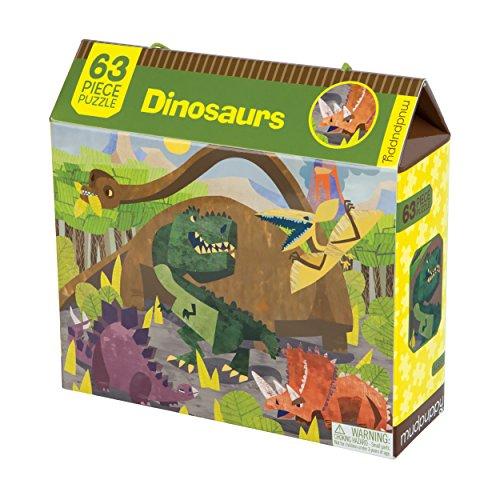 Dinosaurs 63 Piece Puzzle: MUDPUPPY
