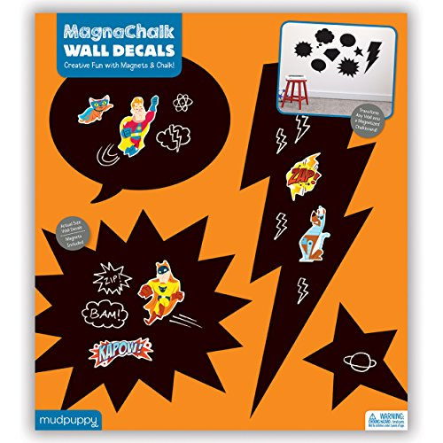 9780735345119: Superhero Magnachalk Wall Decals