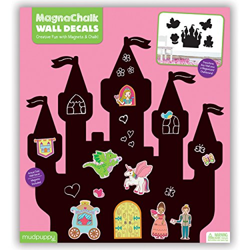 9780735345133: Mudpuppy Princess Castle MagnaChalk Wall Decals
