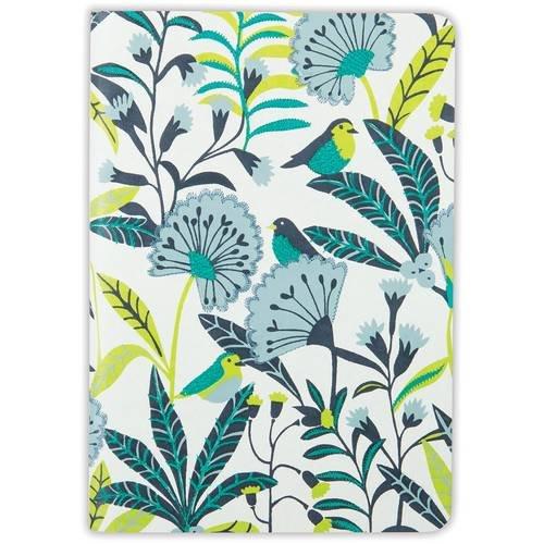 9780735345645: Avian Tropics Handmade Embroidered Journal