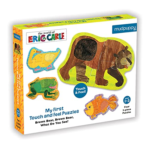 9780735346116: Brown Bear, Brown Bear My First Touch & Feel Puzzles: What Do You See?