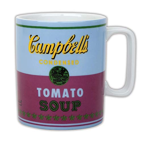 9780735346307: Galison - Andy Warhol - Mug - Campbell's Soup Can (1965) - Red and Violet