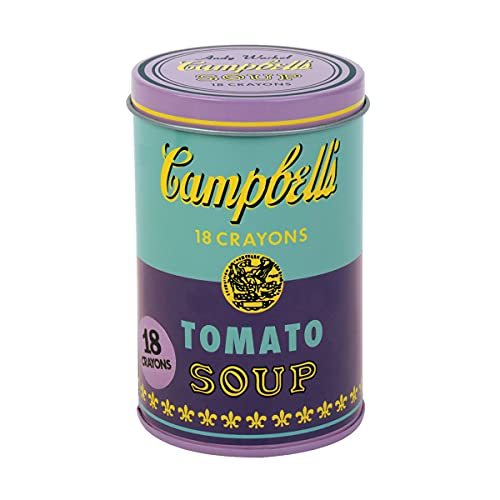 Andy Warhol Soup Can Crayons Purple: Mudpuppy (Corporate Author)/