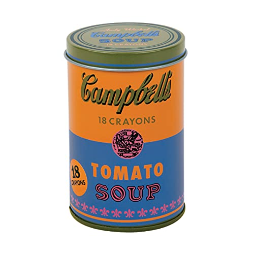 Andy Warhol Soup Can Crayons Orange: Mudpuppy (Corporate Author)/