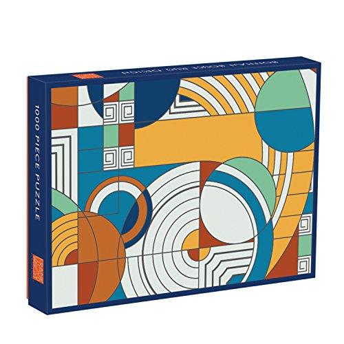 9780735346703: Frank Lloyd Wright Foundation Hoffman House Rug Design 1000 Piece Puzzle