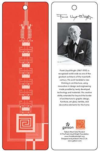 9780735346710: Frank Lloyd Wright Taliesin West Gate Bookmark (Red)