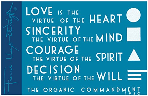 9780735346888: Frank Lloyd Wright the Organic Commandment Magnet