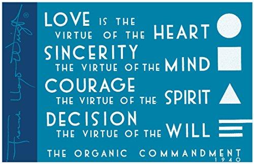 Frank Lloyd Wright the Organic Commandment Magnet: Galison