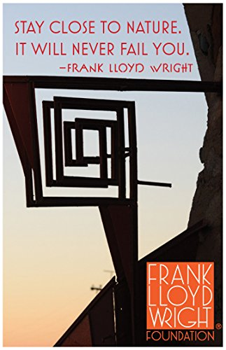 9780735346901: Frank Lloyd Wright Taliesin West Whirling Arrow Magnet