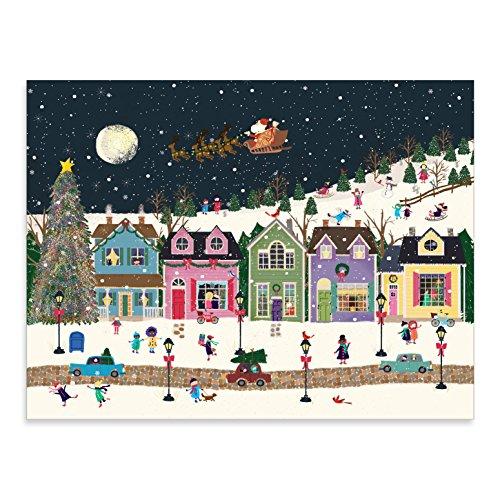 9780735346963: Winter Wonderland Large Embellished Holiday Notecards