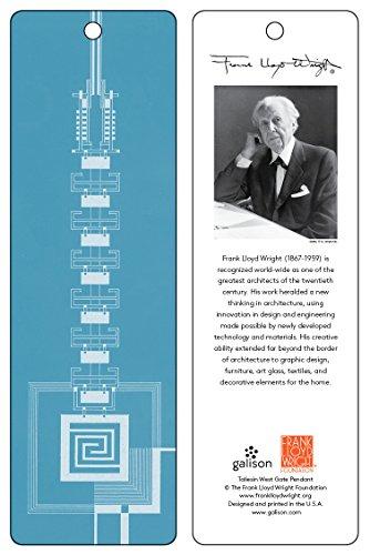 9780735346987: Frank Lloyd Wright Taliesin West Gate Bookmark (Blue)