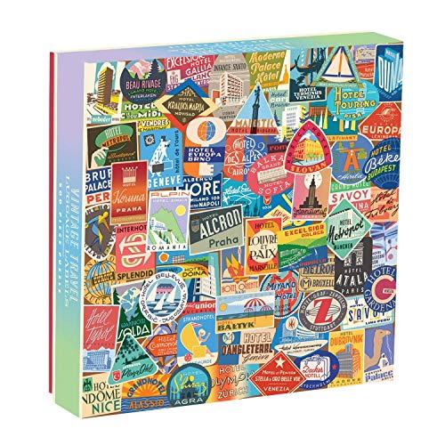 9780735348394: Vintage Travel Luggage Labels 500pc Puzzle