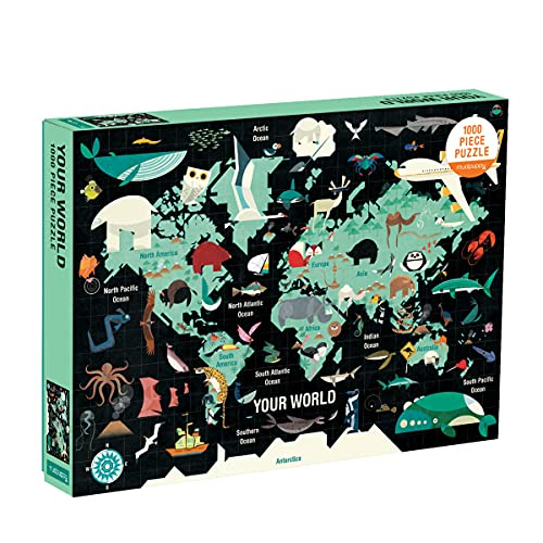 9780735349063: Map of the World 1000pc Family Puzzle
