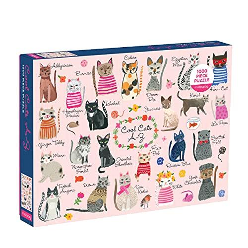 9780735349087: Cool Cats A-Z 1000 Piece Puzzle