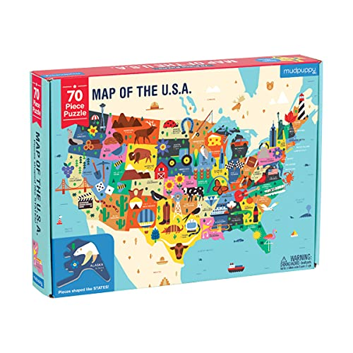 Toy] Map of the Us Geography Puzzle