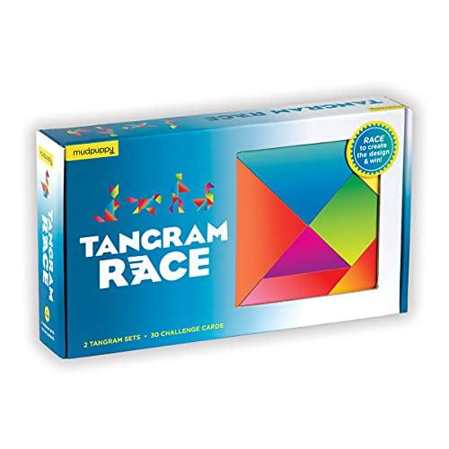 Toy] Tangram Race Game