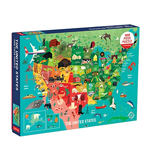 9780735353244: The United States 1000 Piece Family Puzzle