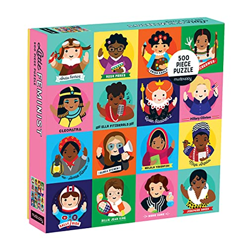 ISBN 9780735353824 product image for Little Feminist 500 Piece Family Puzzle | upcitemdb.com